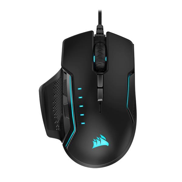 Corsair GLAIVE RGB PRO Gaming Mouse (Aluminum) EU