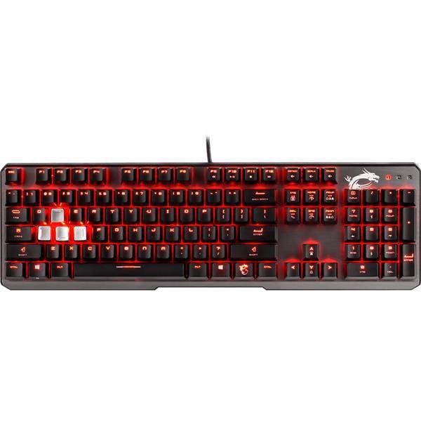MSI VIGOR GK60 Gaming Keyboard - CHERRY MX Red Switches (UK)