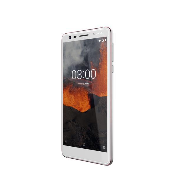Nokia 3.1 (5.2 inch) 16GB 13MP Smartphone (White)