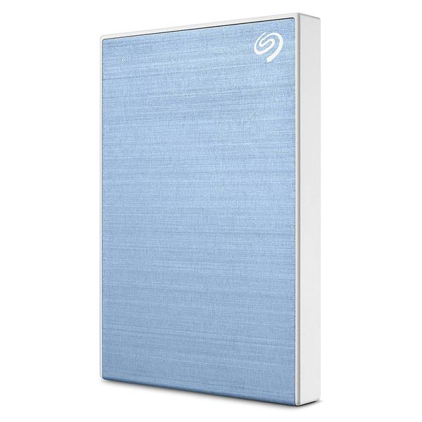 Seagate Backup Plus Slim (1TB) USB 3.0 Portable HDD External (Light Blue)