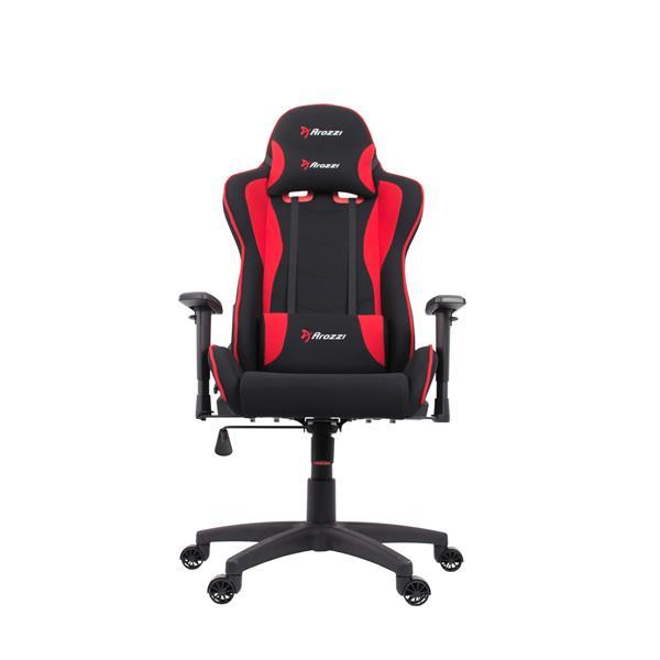 Arozzi Mezzo V2 Fabric Gaming Chair (Red/Black)