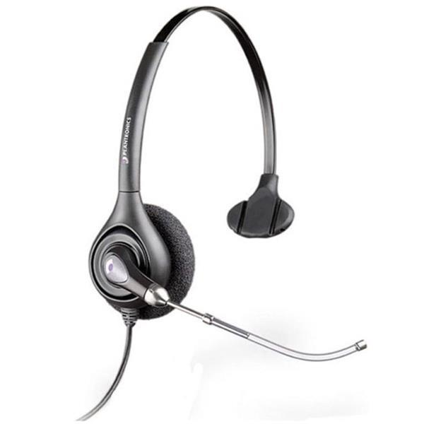 Plantronics SupraPlus HW251H Wideband Monaural Headset for Hard of Hearing