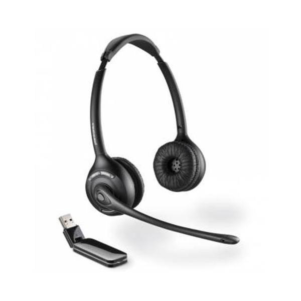 Plantronics Savi W420A Binaural Over the Head DECT Headset - Black - EURO/AUS/NZ