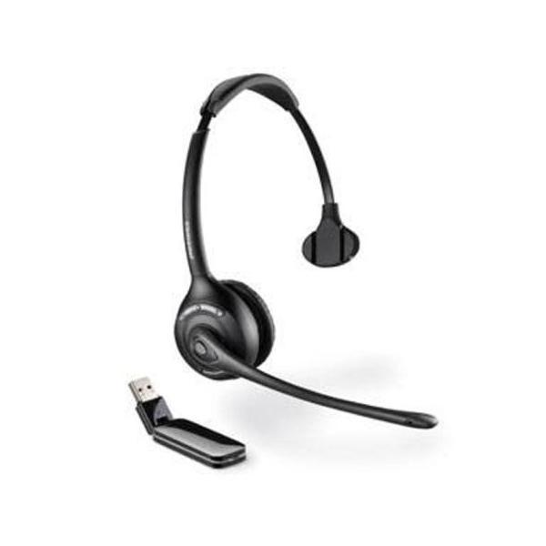 Plantronics W410A-M Savi Monaural DECT Headset - Microsoft Lync Certified EURO/AUS/NZ