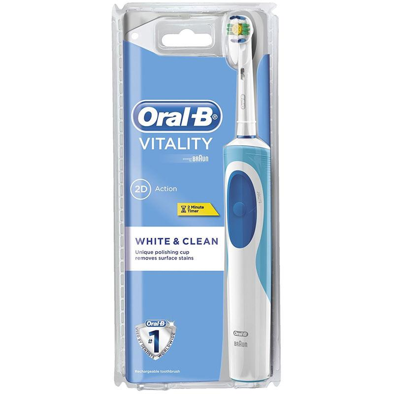 Oral B Vitality 2D White and Clean Rechargeable Electric Toothbrush