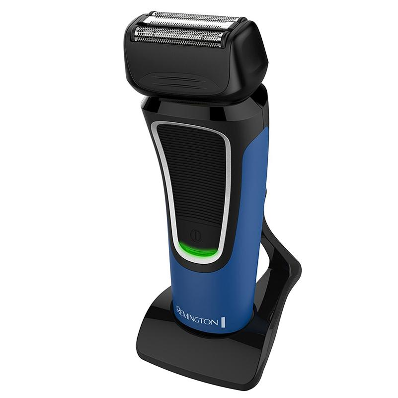 Remington Mens Cord/Cordless Comfort Series Aqua Shaver - Blue/Black