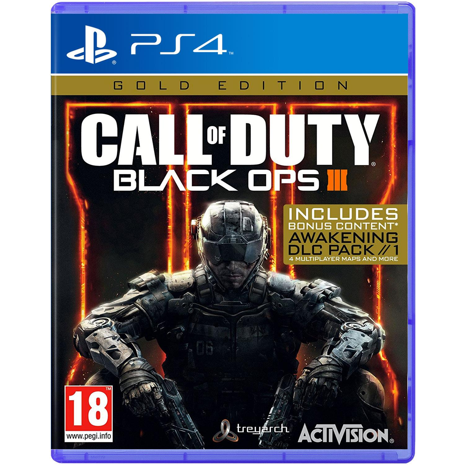 Call of Duty Black OPS 3 Gold Edition (Sony PS4)