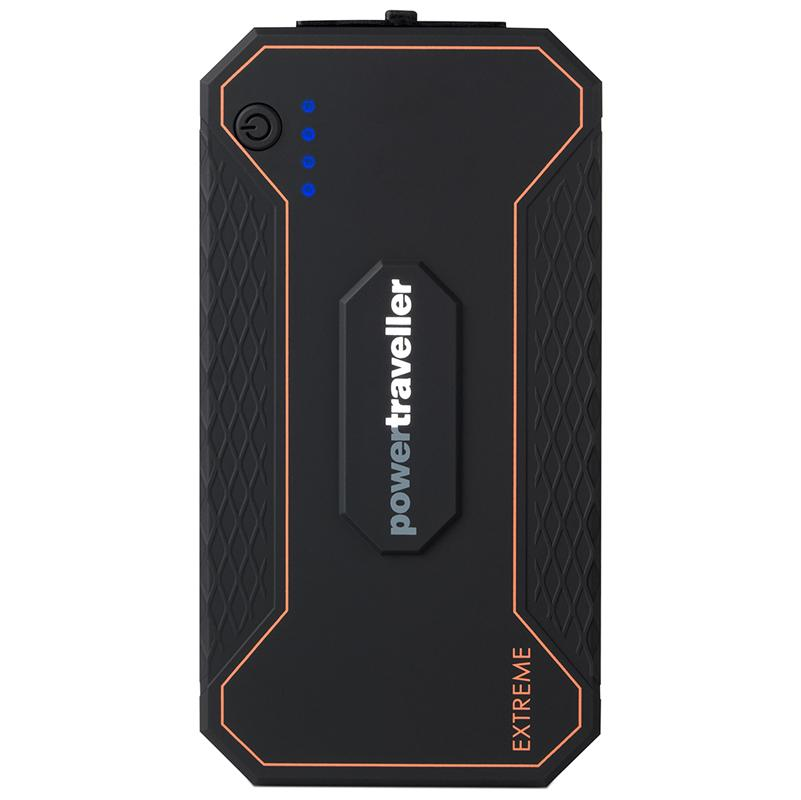 Powertraveller Extreme Waterproof Solar Power Portable Power Bank 12000mAH