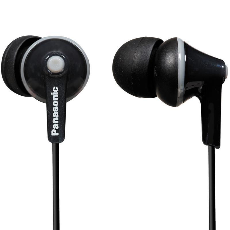 Panasonic Ergofit Stereo Earphones - Black