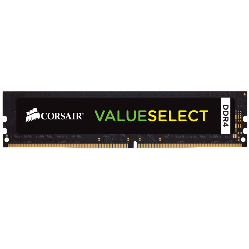 Corsair Value Select 8GB (1x8GB) 2133MHz DDR4 240-Pin CL15 DIMM PC Memory Module