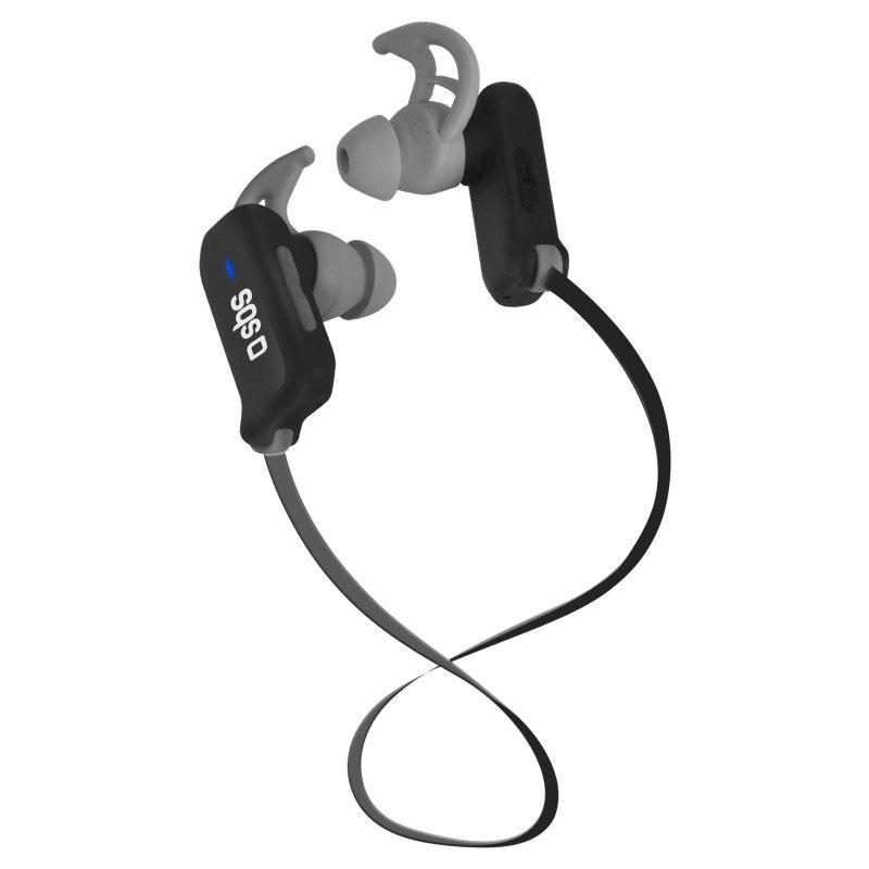 SBS Wireless Stereo Headphones - Black