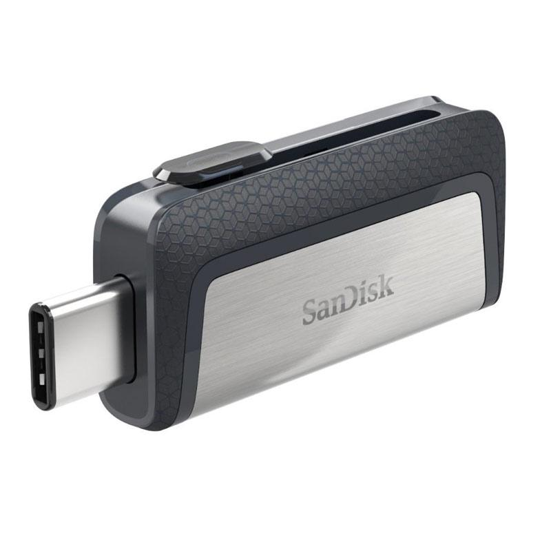 SanDisk 16GB Dual USB-C 3.1 Flash Drive - 130MB/s