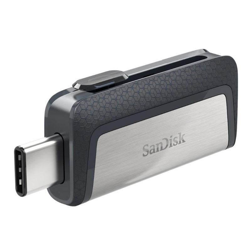 SanDisk 32GB Dual USB-C 3.1 Flash Drive - 150MB/s