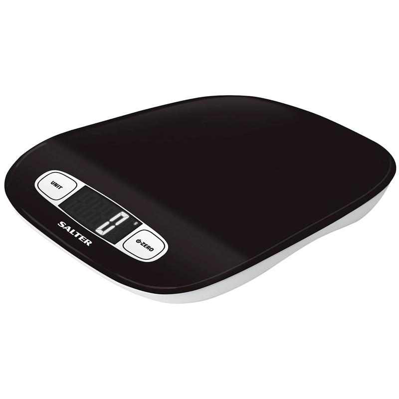 Salter Contour Digital Kitchen Scale - Black