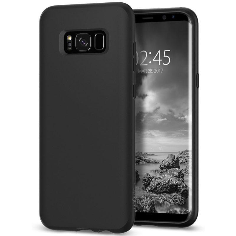 Spigen Samsung Galaxy S8 Case Liquid Crystal - Matte Black