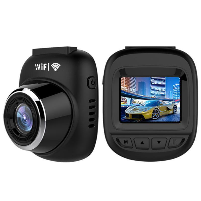 WDR 1080p High Resolution Car Dash Cam (T100) - Black