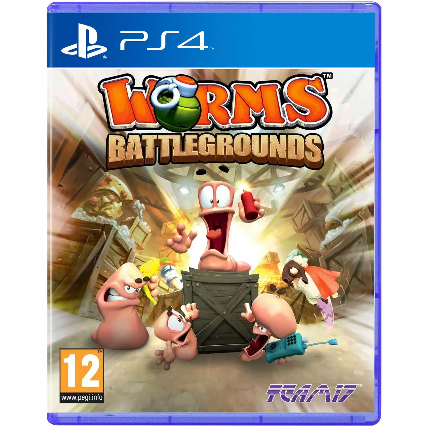 Worms Battlegrounds (Sony PS4)