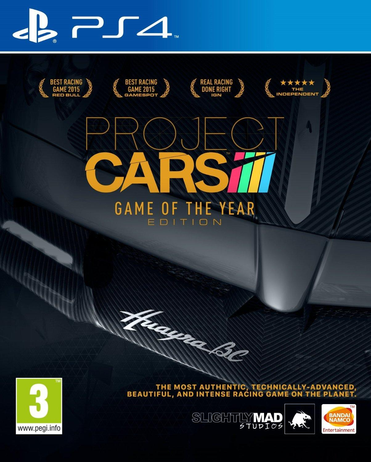 Project CARS - Game of the Year Edition (Sony PS4)