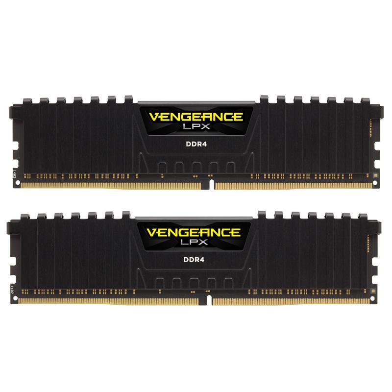 Corsair Vengeance LPX 32GB (2x16GB) 2400MHz DDR4 Non-ECC 288-Pin CL16 DIMM PC Memory Module