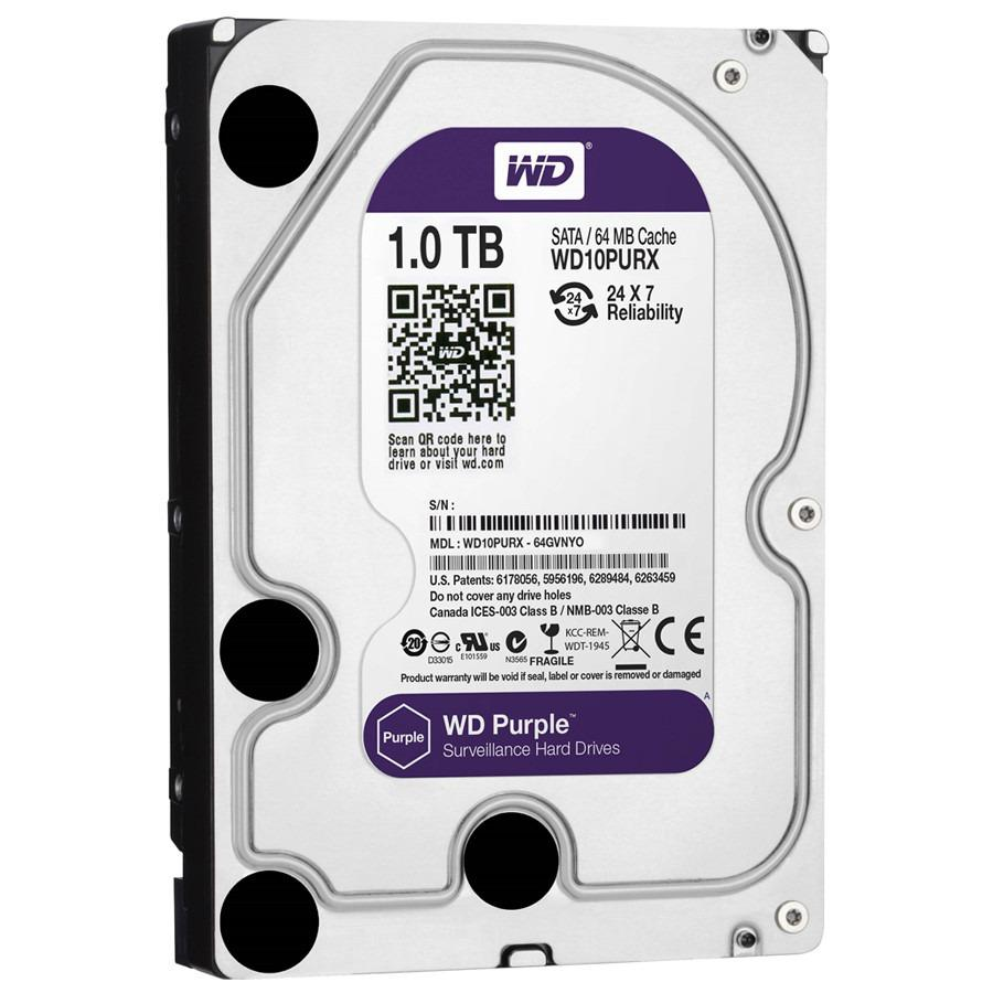 WD Purple 1TB SATA 6Gb/s Internal HDD