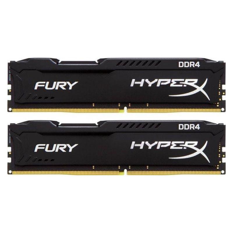 HyperX FURY Black 32GB (2x16GB) Memory Kit PC4-23400 2933MHz DDR4 CL17 288-Pin DIMM