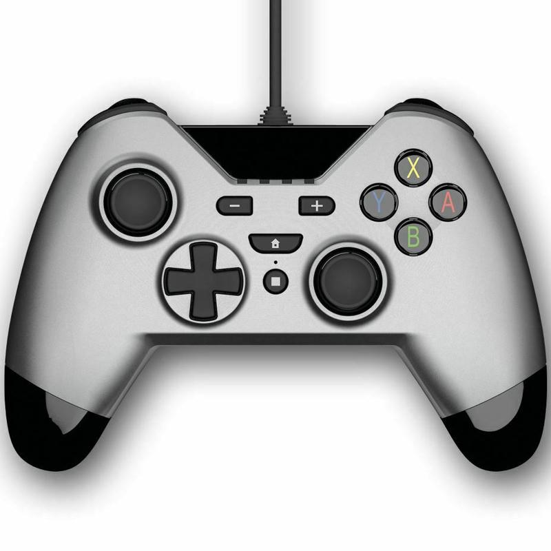 Gioteck WX-4 Wired Controller (Nintendo Switch) - Titanium
