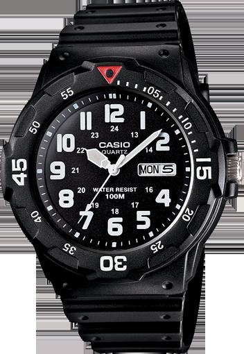 Casio Analogue Mens Watch (MRW200H-1B)