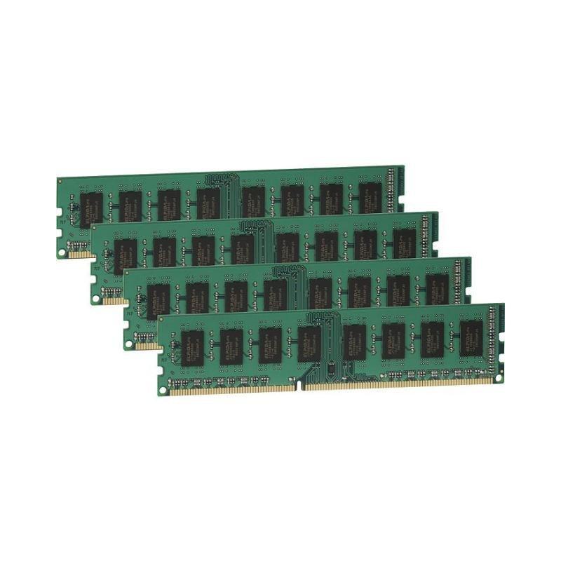 Kingston ValueRAM 32GB (4x8GB) Memory Module 1333MHz DDR3 Non-ECC DIMM 240-pin Unbuffered