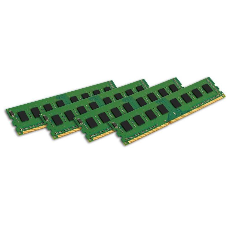 Kingston ValueRAM 32GB (4x8GB) 1333MHz DDR3 Non-ECC 240-Pin CL9 DIMM Server Memory Module