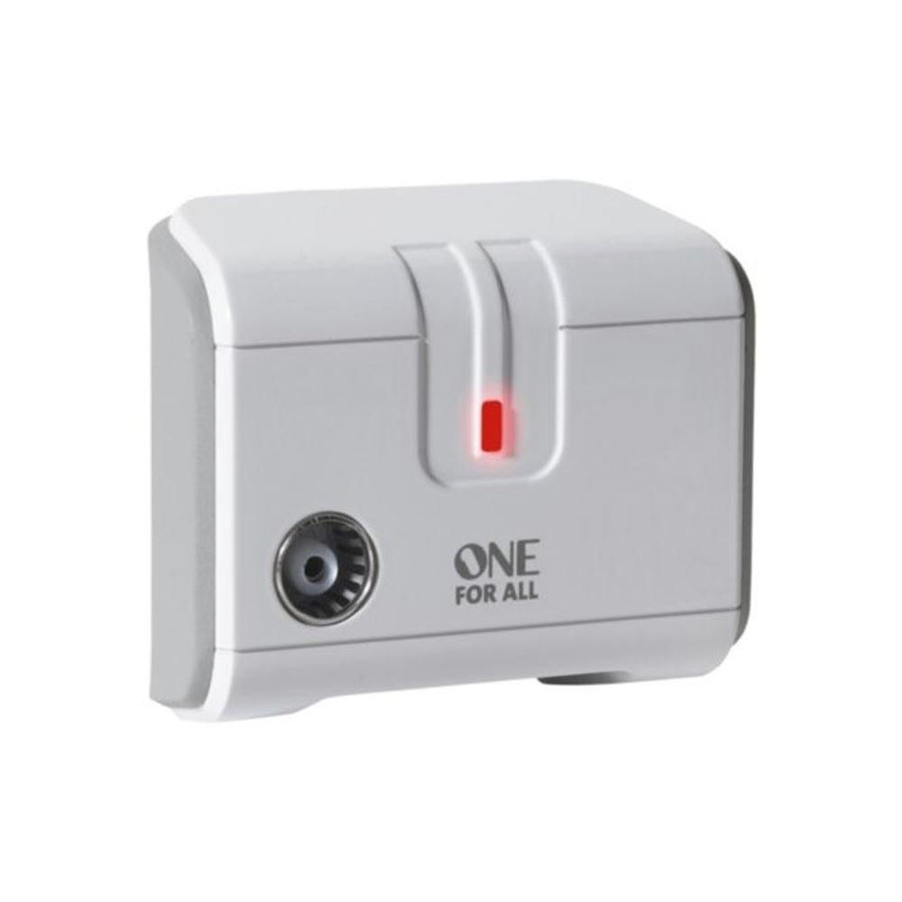 One For All 1 Way TV Signal Booster (SV9601)