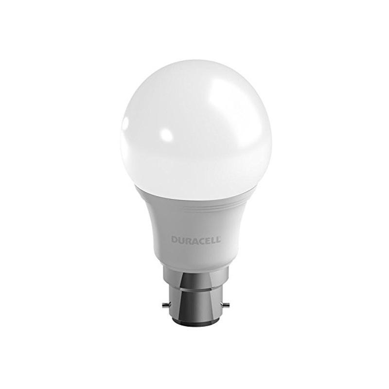 Duracell 9W B22 LED Frosted Globe Bulb - White