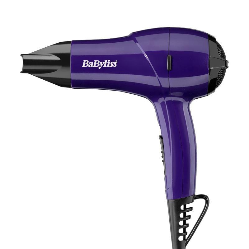 BaByliss Nano Travel Hair Dryer 1200W - Purple (5282BDU)
