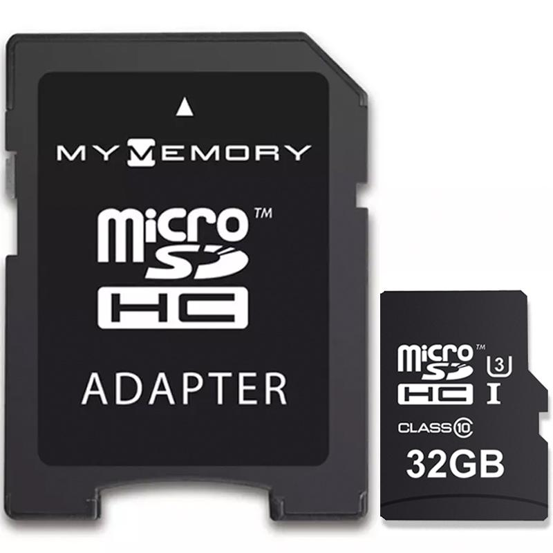 MyMemory 32GB PRO Micro SD Card (SDHC) UHS-I U3 + Adapter - 95MB/s
