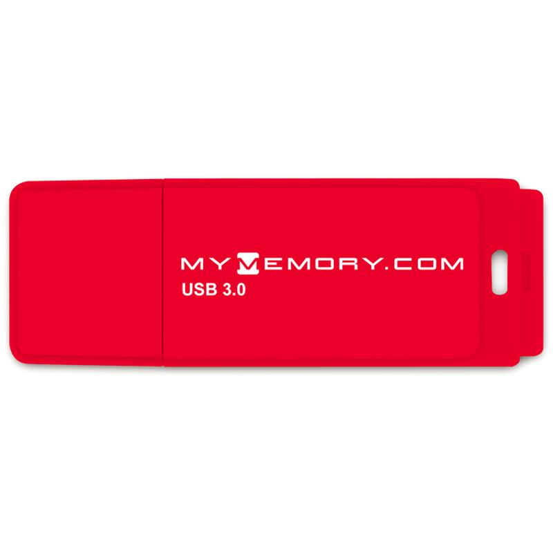 MyMemory 32GB USB 3.0 Flash Drive - 80MB/s - Red