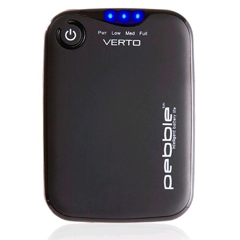 Veho Pebble Verto 3,700mAh Portable Power Bank (Grey)