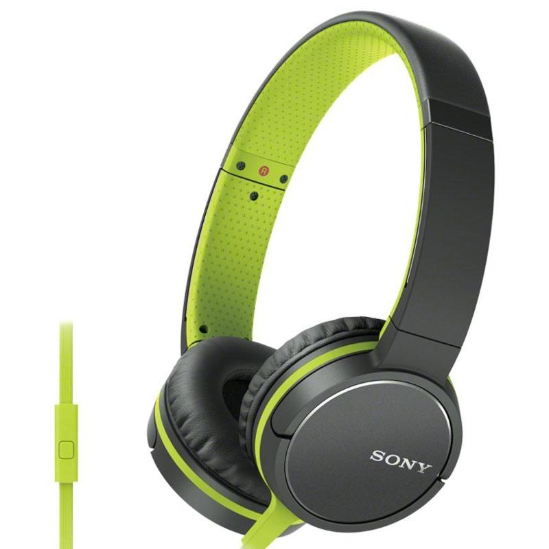Sony Lightweight Headphone with Smartphone Control - Green