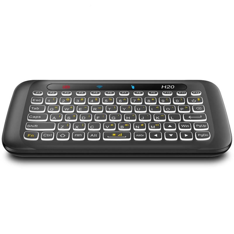 H20 Mini Wireless Keyboard and Touchpad