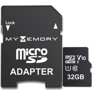 MyMemory 32GB V10 High Speed Micro SD (SDHC) UHS-1 U1 + Adapter