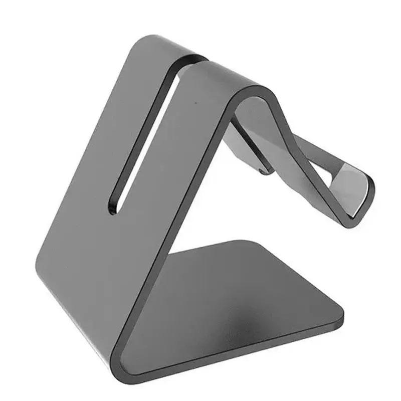 Desktop Mobile Phone Stand/Holder with Apple Lightning Cable - 1M (Apple Lightning)