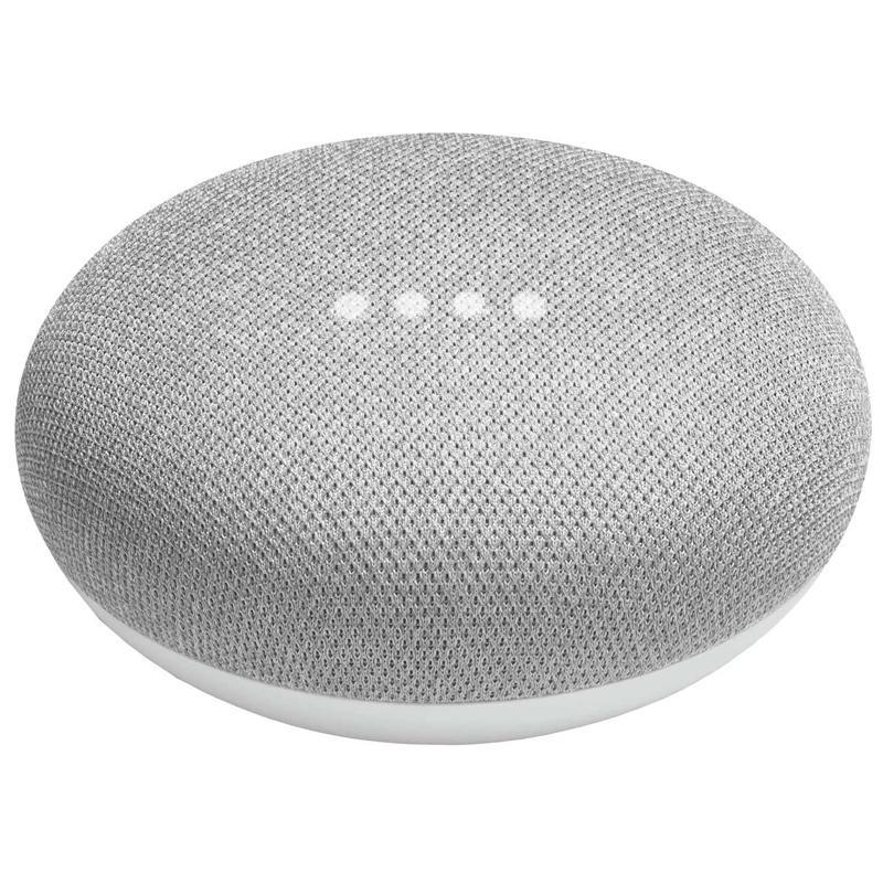 Google Home Mini Smart Speaker - Chalk