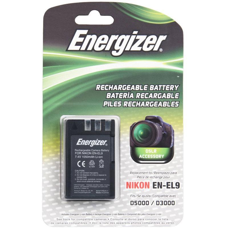 Energizer Nikon EN-EL9 Battery