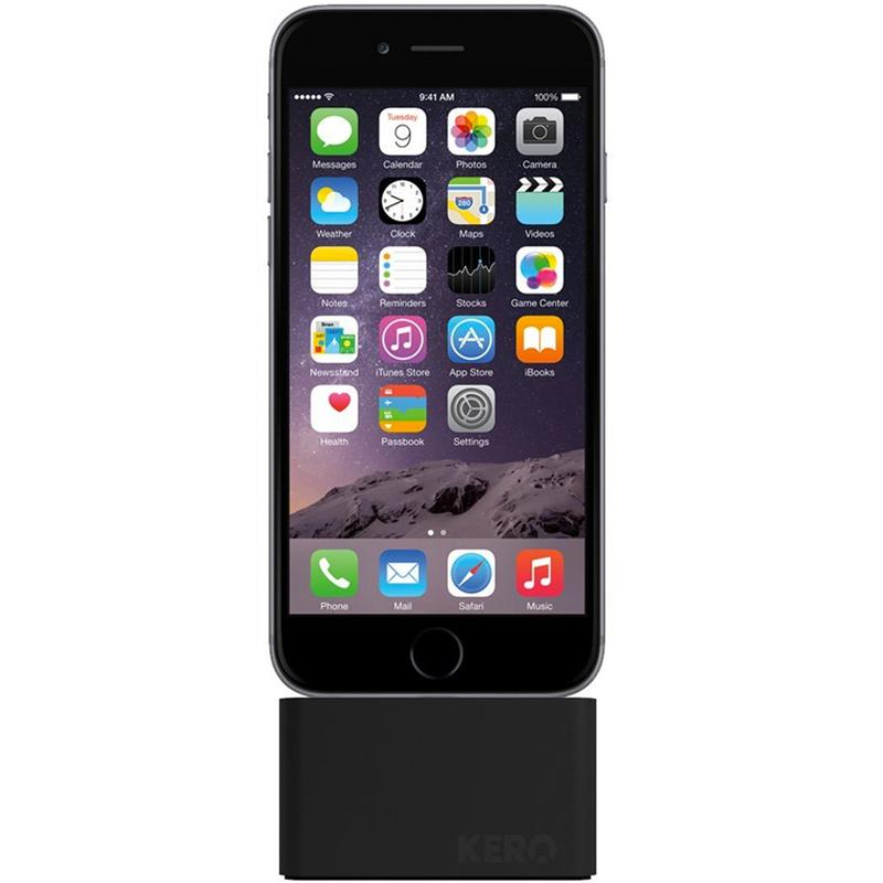 Kero Cable Weight iPhone Dock - Lightning Black