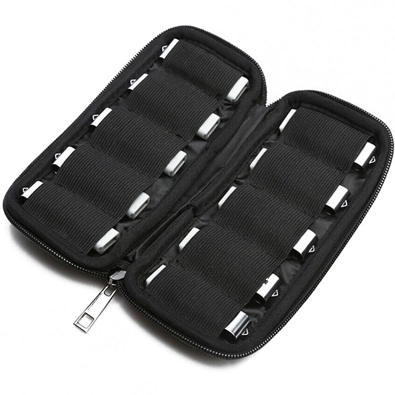 MyMemory USB Drive Storage Case 10-Capacity - Black