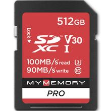 1tb Sd Karte.Sdxc Memory Cards From 64gb 256gb 512gb 1tb And 2tb Mymemory