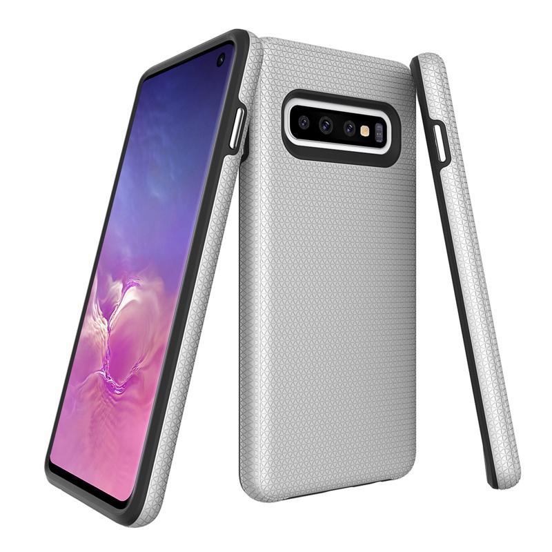 oneo FUSION Samsung Galaxy S10 Case - Silver
