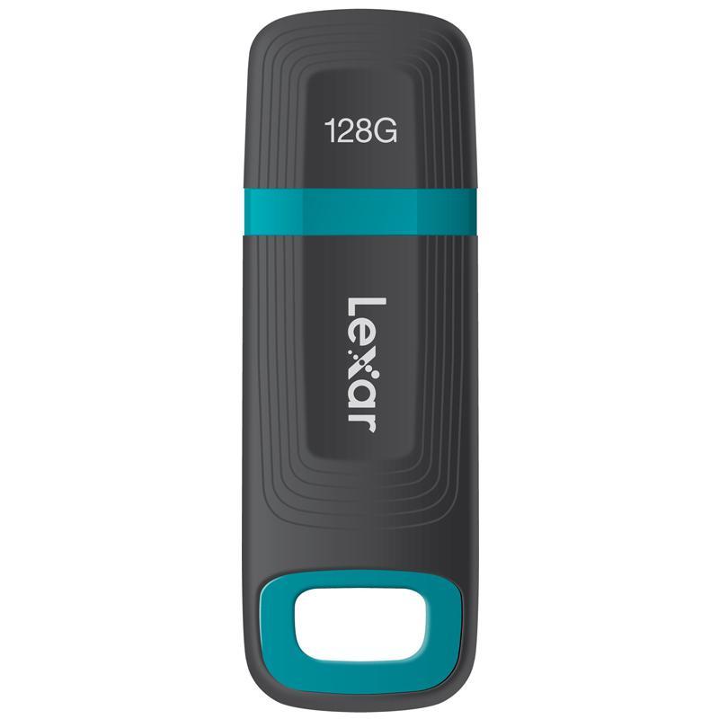 Lexar JumpDrive Tough 128GB USB 3.1 Flash Drive Black/Blue Single