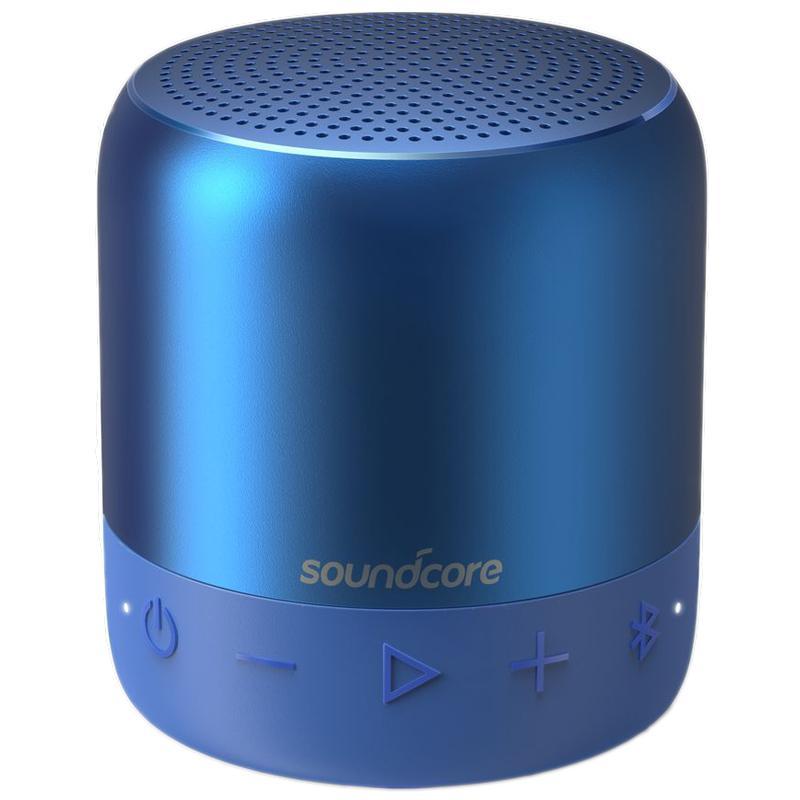 Anker SoundCore Mini 2 Wireless Bluetooth Portable Waterproof Speaker - Blue