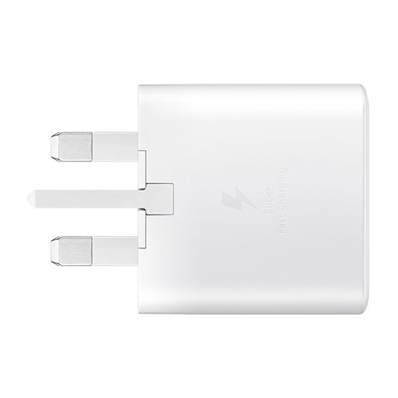 Samsung Galaxy 25W 3A USB-C Fast Charging Adaptor - White