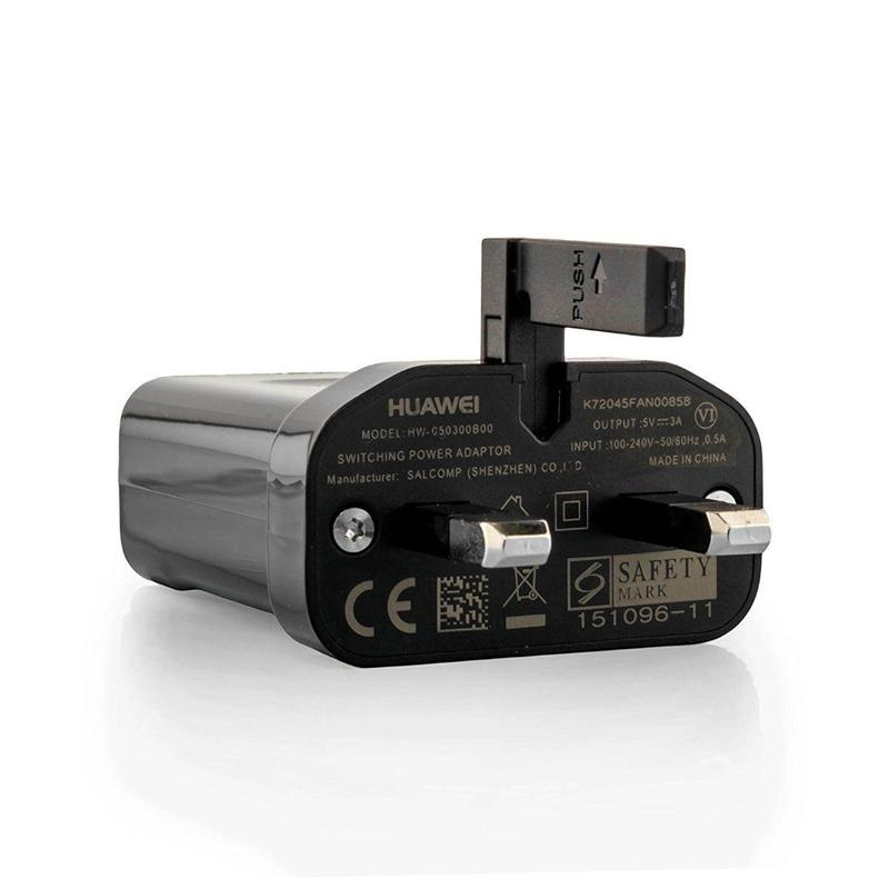 Huawei 3A USB Fast Mains Charging Adapter + Micro USB Cable