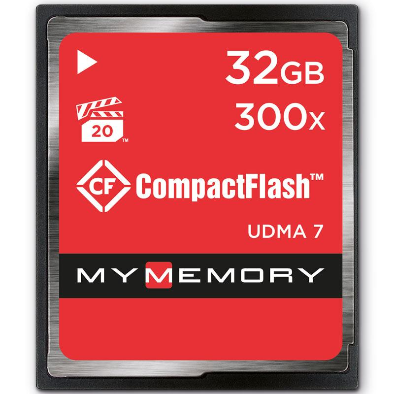 MyMemory 32GB 300X Compact Flash Card - 45MB/s